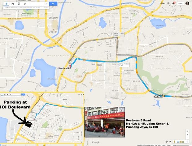 Restoran 8 Road map